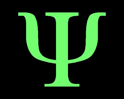 Green Psi Symbol