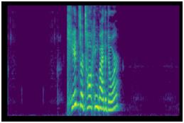 log mel spectrogram